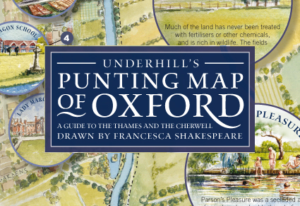 Oxford Punting Map
