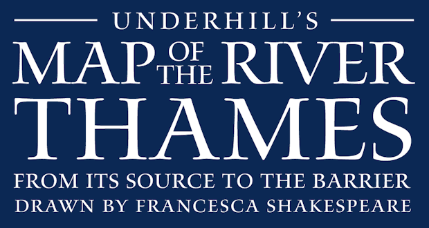 Underhill's River Thames Maps