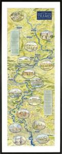 Thames_Map_Framed_Mounted